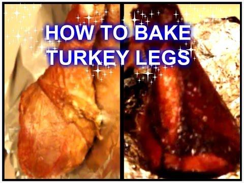 HOW TO BAKE TURKEY LEGS!! ;-) YUMMY !!