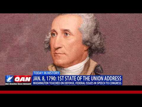 This Week in History: The First State of the Union Address