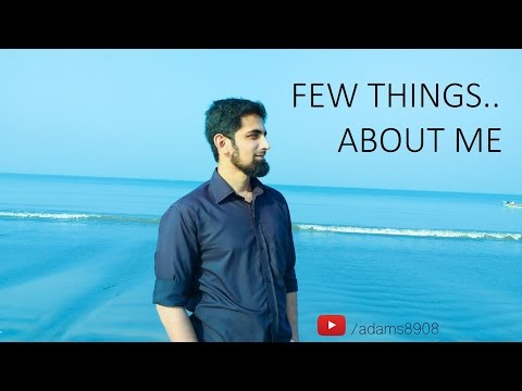 Few things About Me!! ( Mumbai - India )