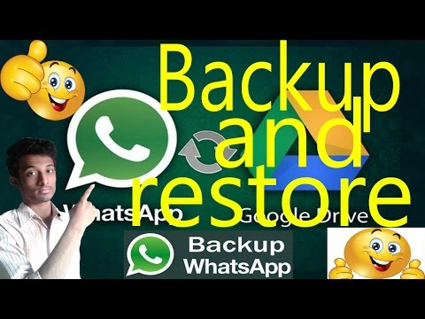 How to backup your whatsapp all important Massage and restore all Massage..