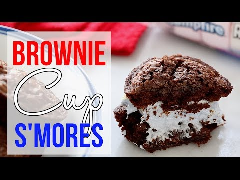 AD | Brownie Cup S'mores | Jelly Toast