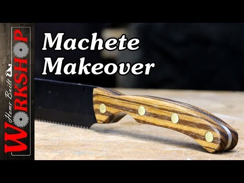 Clearance Rack Machete Makeover
