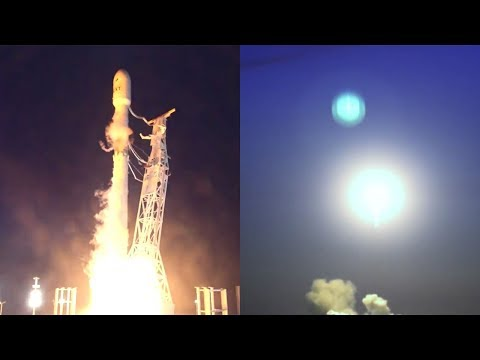 SpaceX Falcon 9 launches Iridium-4