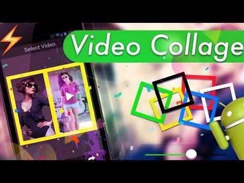 2 Mejores Apps: Hacer collage con videos y fotos (+ texto y Musica) ANDROID