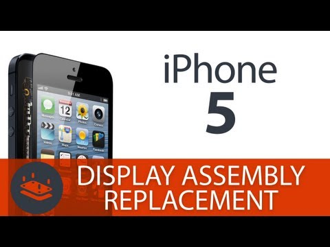 How To: Replace the Screen on the iPhone 5 (Display Assembly,LCD, Digitizer)