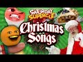 Every Annoying Orange Christmas Song! [Saturday Supercut🔪]