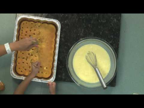 Cooking with MFRD-Banana Pudding Cake