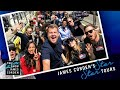 Avengers Infinity War Cast Tours Los Angeles W James Corden