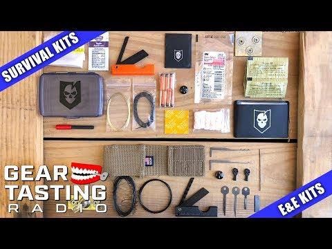Survival Kits vs. E&E Kits - Gear Tasting Radio 64