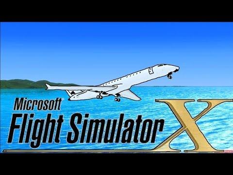 Microsoft Flight Simulator X Demo Gameplay