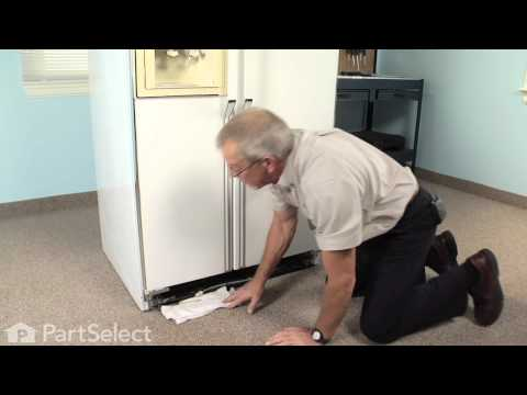 Refrigerator Repair - Replacing the Door Closing Cam Kit (Whirlpool Part # 4318165)