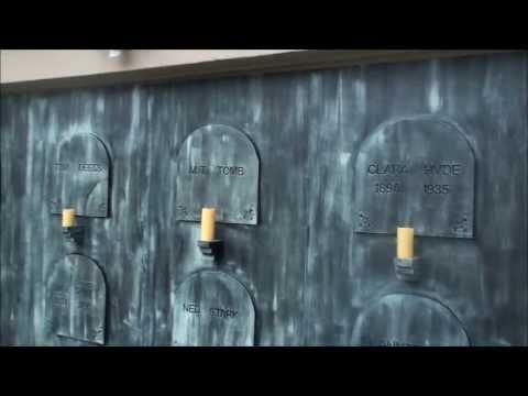 Crypt Wall Facade Halloween Prop