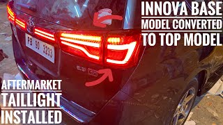 "Innova crysta modifications and accessories | innova crysta modified | 17"" alloy wheels | interior |"