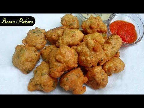Besan Pakora || Besan Bonda || Gramflour Pakora - Quick Snack Recipe
