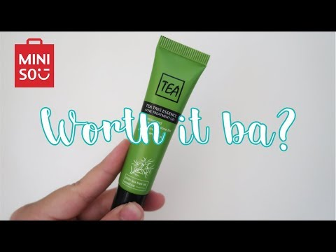 Miniso Acne Treatment Gel. 99 PESOS LANG! | WORTH IT BA? (Skincare Review)