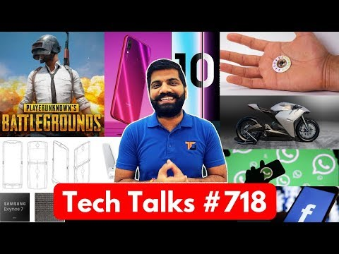 Tech Talks #718 - Redmi Note 7 India, PUBG Night Mode, AirTel 1699 Plan, Moto Folding Phone, Apex
