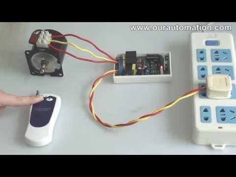 AC 100~240V  Momentary Motor Control Kit for AC Motor