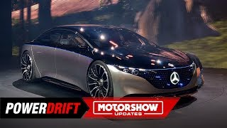 Mercedes-Benz Vision EQ S : The future of the S-Class : IAA 2019 : PowerDrift