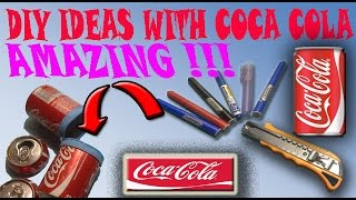 Simple Life Hacks / how to make things useful From the (Coca-Cola)