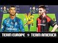 Team Europe VS Team America FIFA 18 Experiment