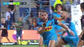 NRL Highlights: Gold Coast Titans v Canberra Raiders - Round 1