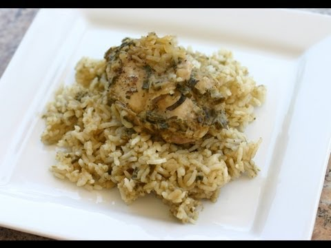Healthy Chicken and Rice Casserole With Homemade Cream of Mushroom Soup by Rockin Robin