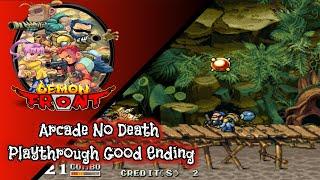Demon Front Arcade   No Death, Good Ending Playthrough