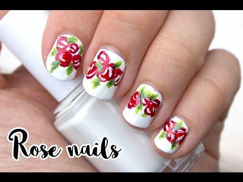 Roses Nail Design   Viki Nailbeauty
