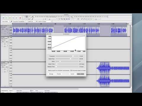 Editing Multiple Tracks in Audacity