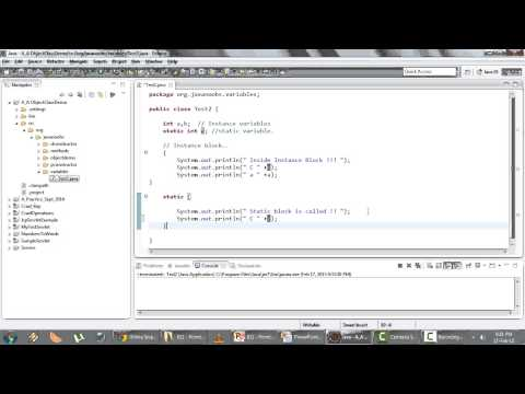 Java Basics Part 1 - Q 12) Local And Instance Variables