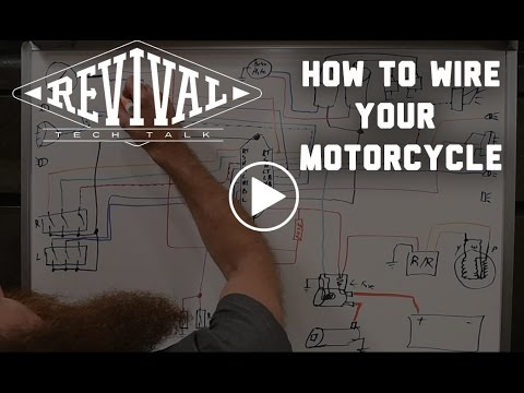 How to Wire Your Motorcycle  - Revival Cycles' Tech Talk