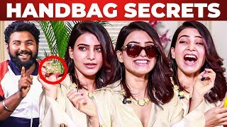 Download SAMANTHA Handbag SECRETS Revealed⁉ | What's Inside the HANDBAG | Super Deluxe Video