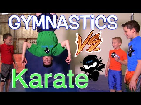 Karate Kid vs Gymnastics Kid Challenge - You Decide The Winner
