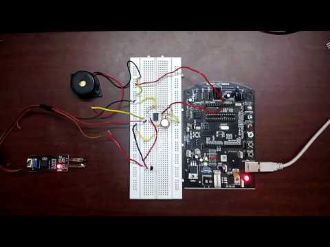 simple burglar alarm using 555ic