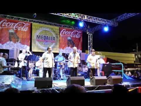 Don Perigñon Y La Orquesta Puertorriqueña en Fiestas de la Placita Roosevelt, PR