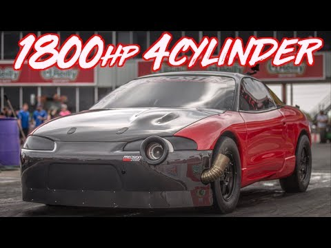 Red Demon 1800HP 4 Cylinder 80psi of Boost! - The Quest for 6's begins