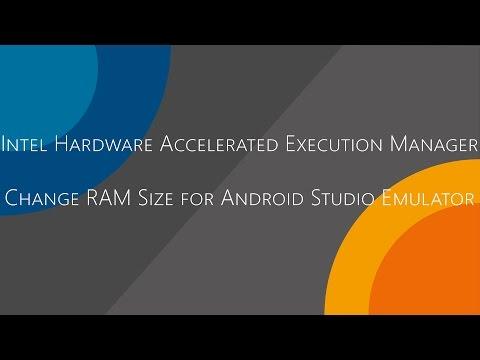 QuickTip #281 - Intel HAXM Change RAM Size for Android Studio Emulator