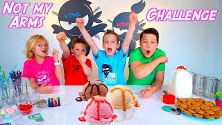 Not My Arms Homemade Ice Cream Challenge!