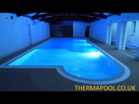 Deck level swimming pool
