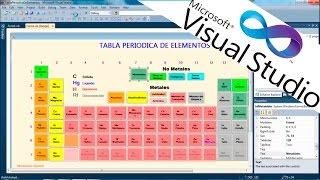 Tabla periodica en visual studio music jinni tabla periodica visual studio 2010 vb urtaz Gallery