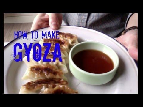How to Make Gyoza - Japanese dumplings