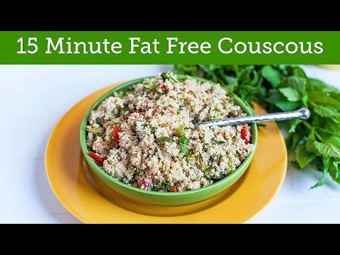 15 Minute Fat Free Vegan Couscous Recipe