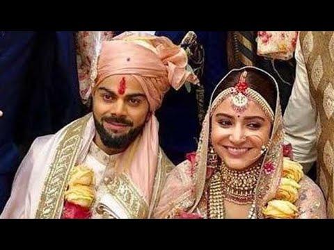 TOP 10 Best Pictures  Of  Virat Kohli & Anushka Sharma's  Wedding||
