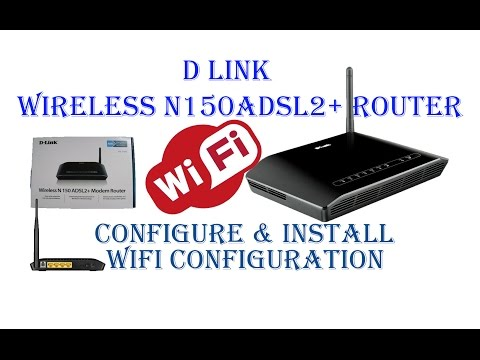 D Link Router Configure & Install With Wifi Setup