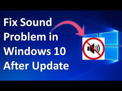 How to Fix Audio Problem in Windows 10 After Update in Hindi