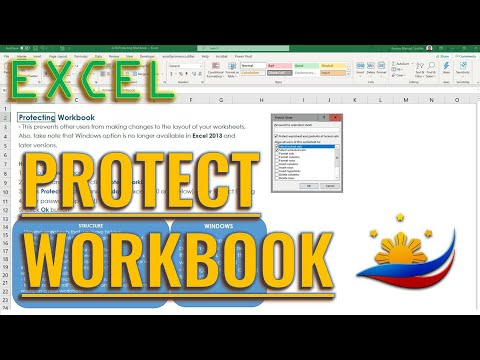 Excel Protecting Workbook