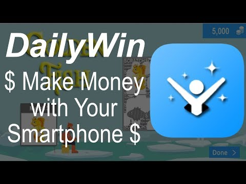 Make Money Playing Scratch Cards with DailyWin - Make Money with Your Smartphone