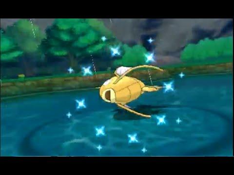 Pokemon Alpha Sapphire (ORAS) Live Shiny Magikarp Catch! Chain Fishing