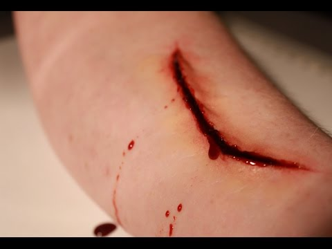 Easy Cut SFX Makeup Tutorial. Perfect for Halloween