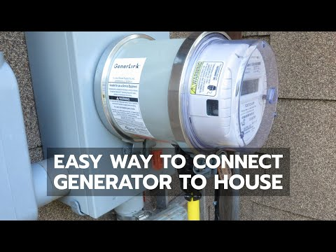 BACKUP POWER: Easiest Way to Connect Generator to House